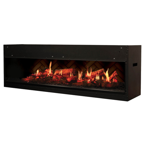 DIMPLEX VF5452L OPTI-V DUET- DOUBLE ELECTRIC FIREPLACE- NO HEAT