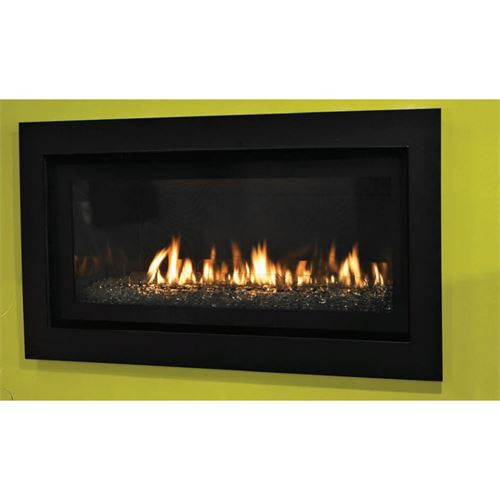 Empire boulevard linear contemporary direct vent gas fireplace