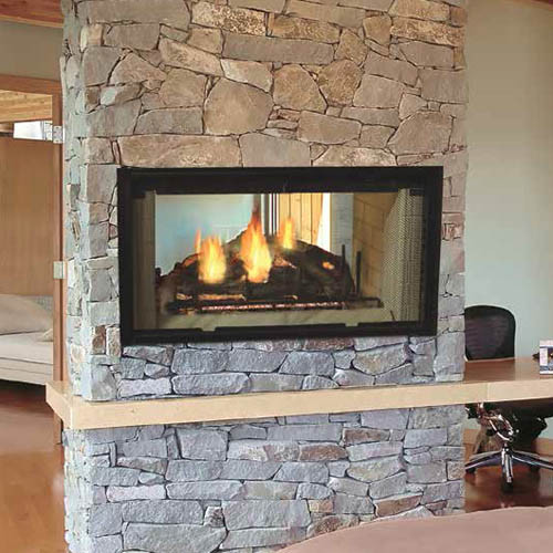 Majestic Designer Series See Thru Wood Burning Fireplace 42 Quot