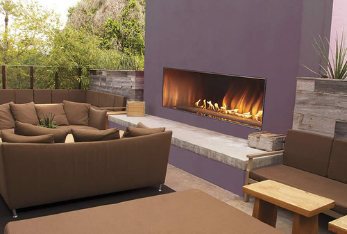 Carol Rose Linear Outdoor Gas Fireplaces