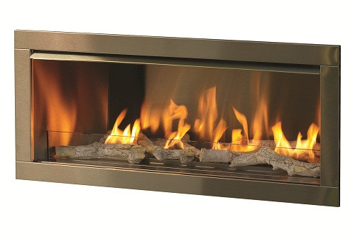firegear od42 outdoor linear gas fireplace
