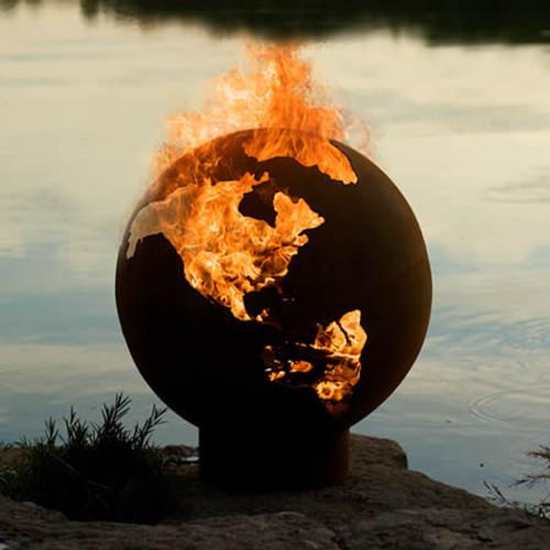 Fire Pit Art Third Rock