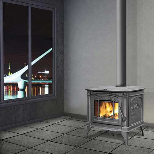NAPOLEON 1400C CAST IRON WOOD STOVE