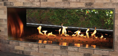 Carol Rose See Thru Outdoor Gas Fireplaces On Sale Now