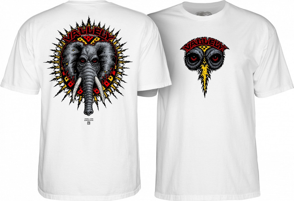 Powell Peralta Mike Vallely Elephant T-Shirt (Available in 5 Colors)