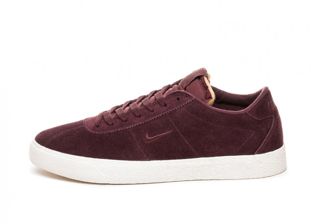 Nike SB Zoom Bruin Shoe (Burgundy Crush) FREE USA SHIPPING