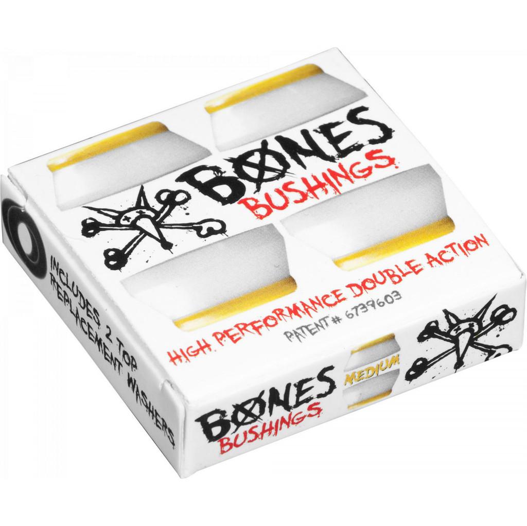 Bones Hardcore Bushings Medium White Set