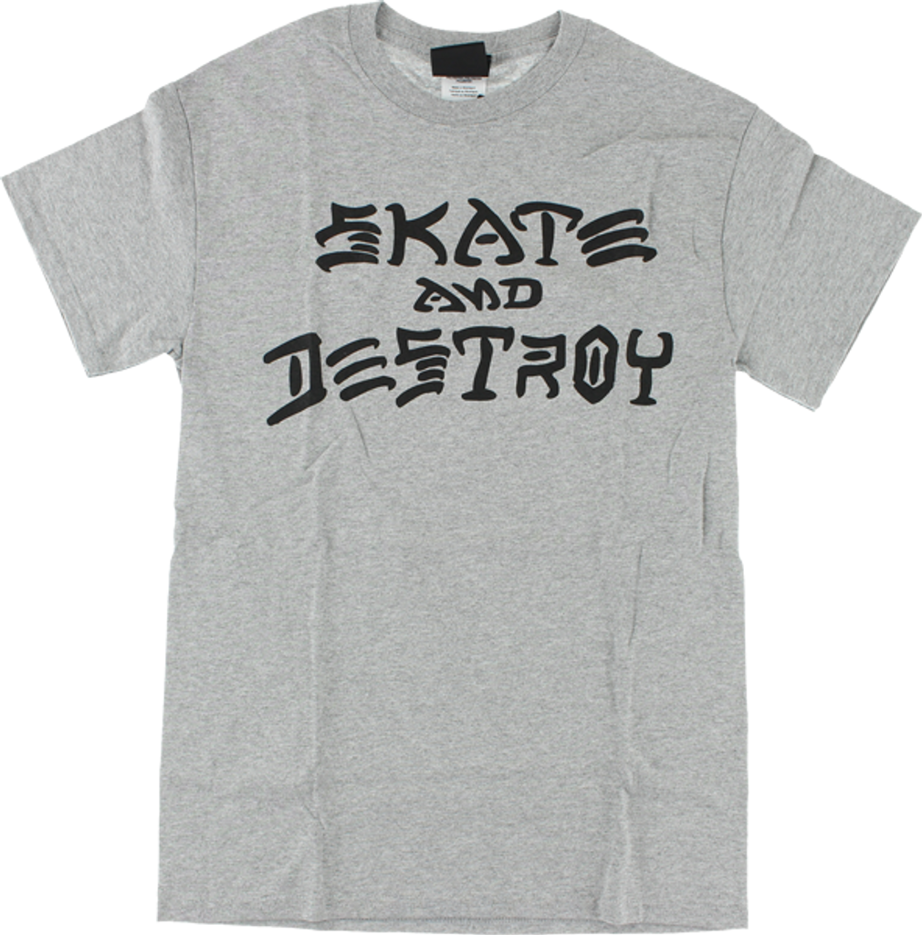 Thrasher Skate and Destroy T-Shirt (Available in 3 Colors)
