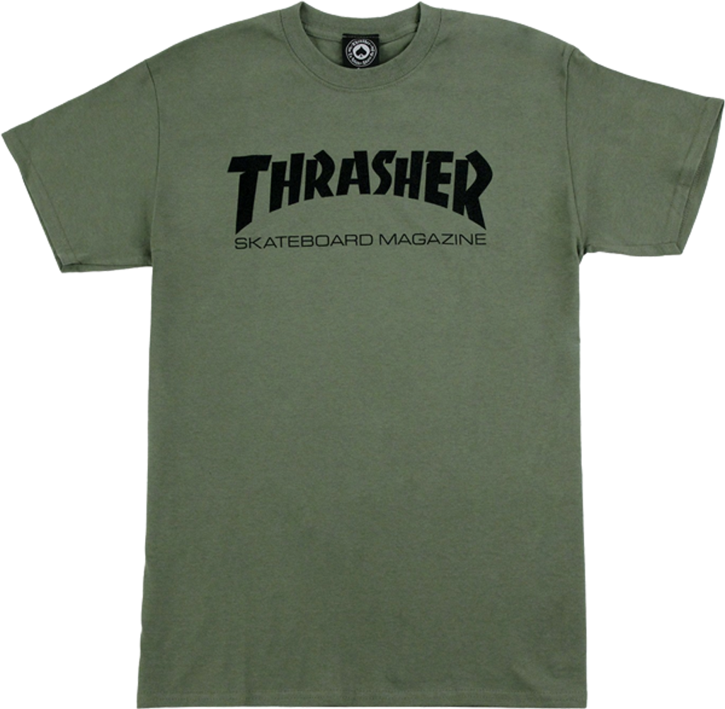 Thrasher Skate Mag T-Shirt (Available in 5 Colors)