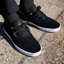Emerica Figgy Dose Shoes (Black) FREE USA SHIPPING