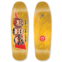 "Black Label Max Evans Manny, Moe, and Max Re-Issue Deck 9.63"" x 32"""
