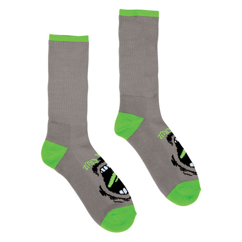 Santa Cruz Screaming Hand Socks Grey (2 pair pack)