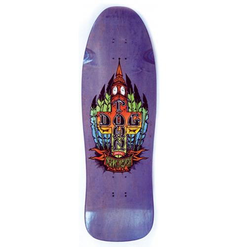 """Dogtown Old School Ben Schroeder Reissue Deck Purple 10"""" X 30.75"""""""