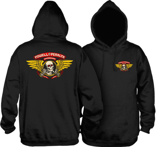 Powell Peralta Winged Ripper Hooded Sweatshirt (Available in 3 Colors)