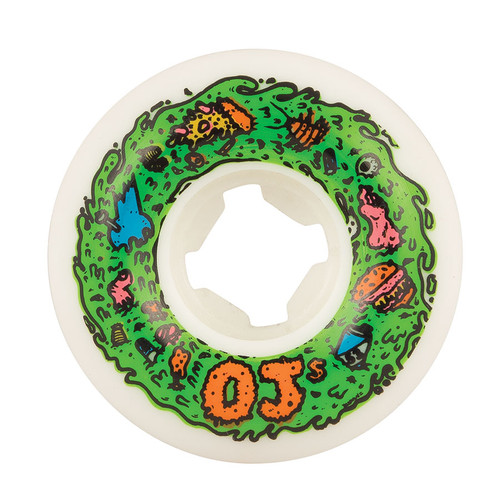 OJ Scum Insaneathane Wheels 53mm/101a (Set of 4)