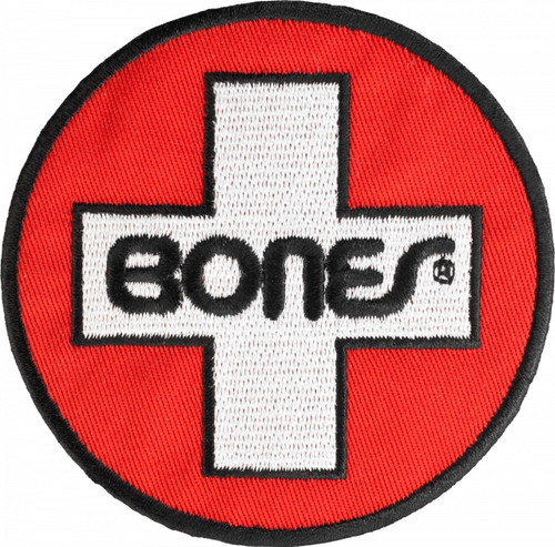 Bones Swiss Circle Patch Single