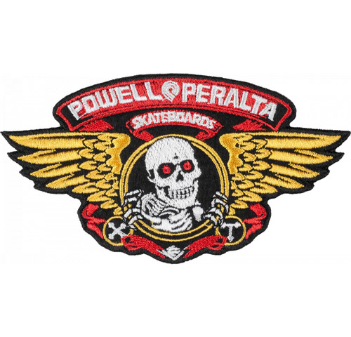Powell Peralta Winged Ripper Patch Single 5""