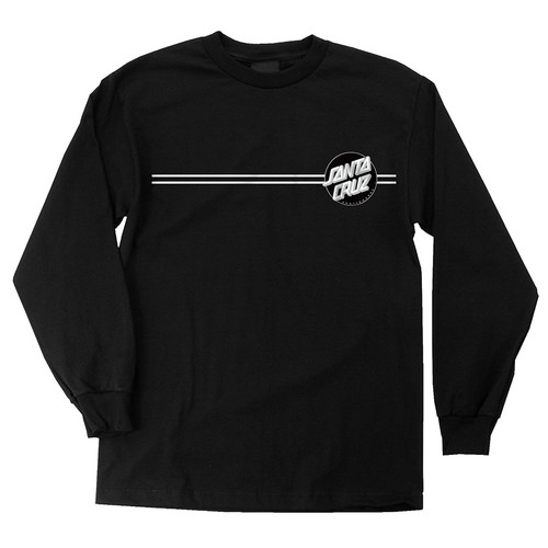 Santa Cruz Other Dot Long Sleeve Shirt (Black)