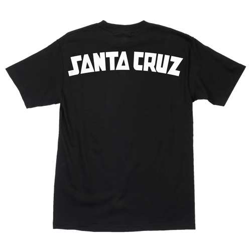 Santa Cruz Arch Strip T-Shirt (Black)