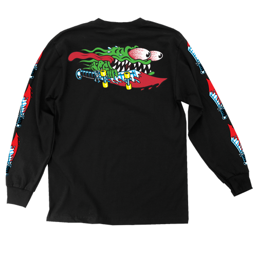 Santa Cruz Slasher Swords Long Sleeve Shirt (Black)