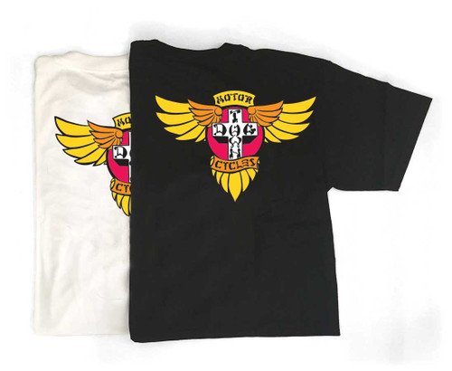 Dogtown Skates Motorcycle Wings T-Shirt (Available in 1 Color)