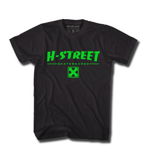 H-Street 80's Type T-Shirt (Available in 3 Colors)