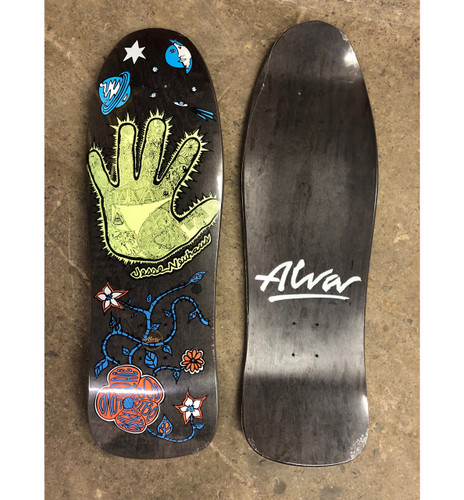 Alva Skates Jesse Neuhaus Hand Re-Issue Deck (Black)