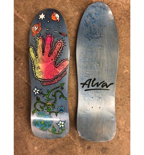 Alva Skates Jesse Neuhaus Hand Re-Issue Deck (Blue)