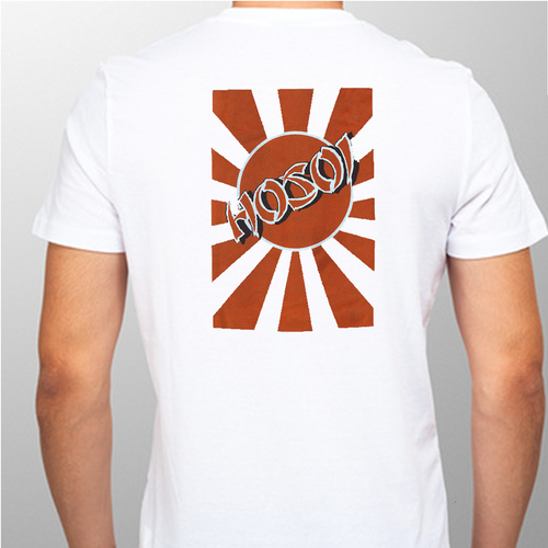 Hosoi Skates Rising Sun Old School Reissue T-Shirt (White)
