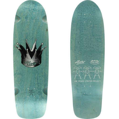 "Alva Skates Hyperkick Deck 9.5"" x 33"" (Choose Color)"