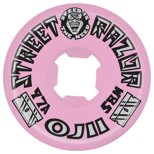 OJ Street Razor Wheels Pink 58mm/97a (Set of 4)