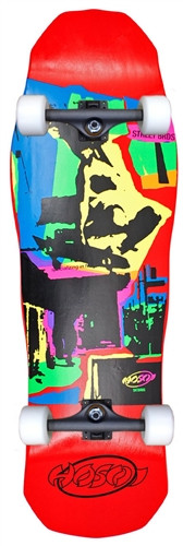 Hosoi Pop Art 87 Old School Reissue Complete Red