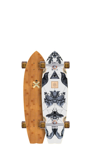 """Arbor Sizzler Bamboo Longboard 8.63"""" X 31.75"""" (Available as Deck or Complete) FREE USA SHIPPING"""