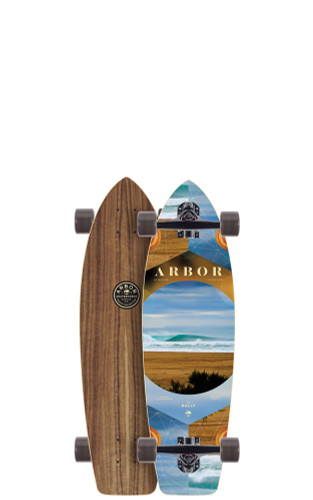 """Arbor Rally PC Longboard 8.90"""" X 30.5"""" (Available as Deck or Complete) FREE USA SHIPPING"""