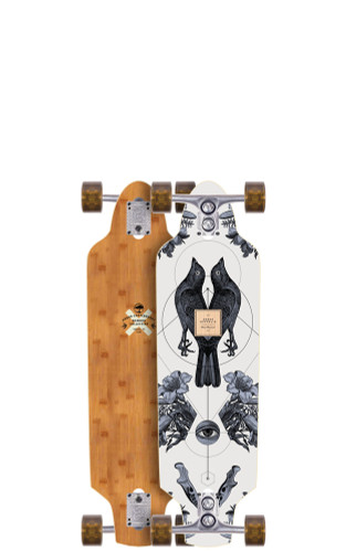 """Arbor Zeppelin Bamboo Longboard 8.75"""" X 32"""" (Available as Deck or Complete) FREE USA SHIPPING"""