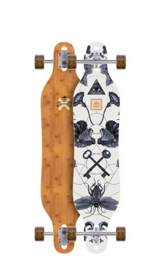 """Arbor Axis 40 Bamboo Longboard 8.8"""" X 40"""" (Available as Deck or Complete) FREE USA SHIPPING"""