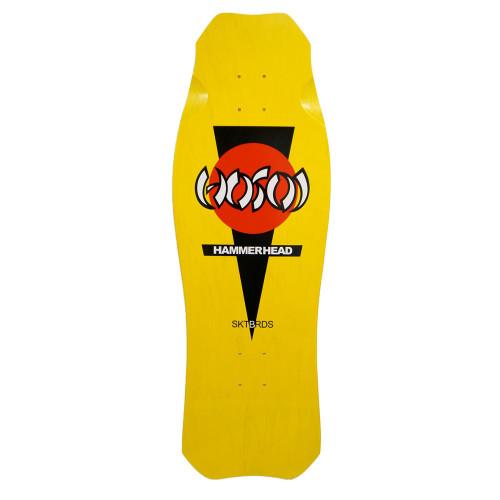 Hosoi Skates OG Hammerhead Old School Re-Issue Yellow Deck