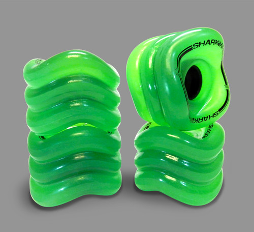 Shark Sidewinder 70mm 78a Wheels Green (Set of 4)