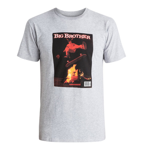 DC Big Brother Issue 666 T-Shirt Steel Grey