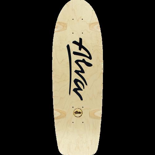 "Alva Skates Bela Old School Reissue Deck 8.5"" X 27"""