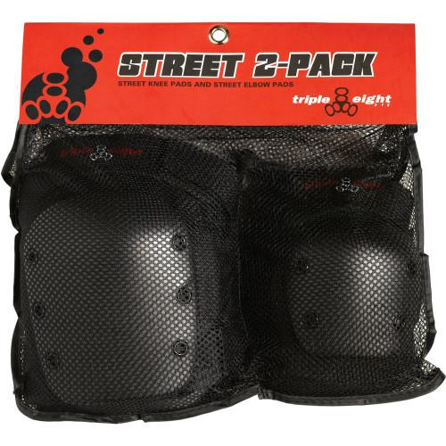Triple 8 Street Pack Pad Set (Elbow & Knee)