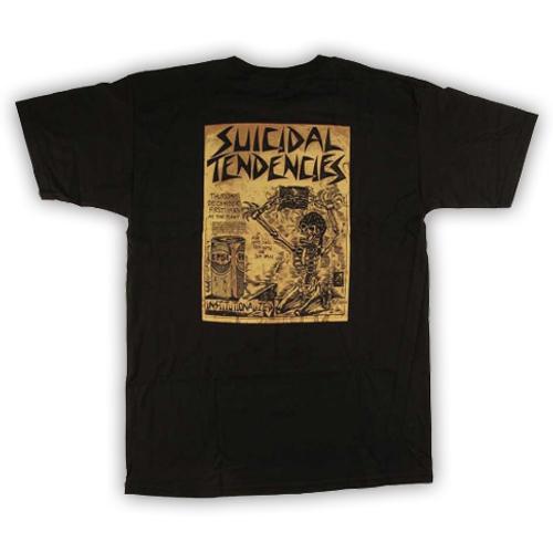 Suicidal Skates Punk Flyer T-Shirt