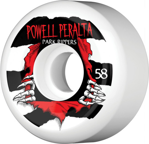 Powell Peralta Park Rippers PF Wheels 58mm (Set of 4)