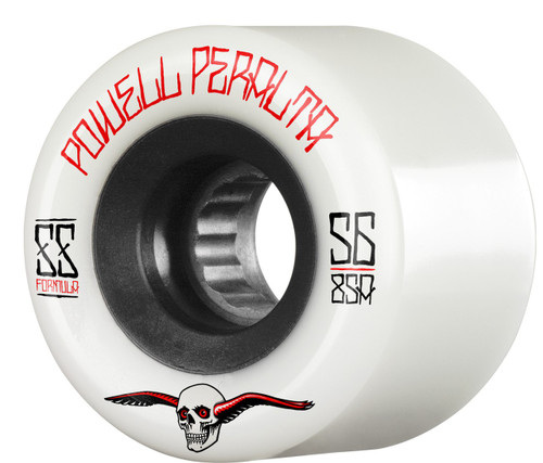 Powell Peralta G-Slides 56mm 85a White Wheels 4 pk