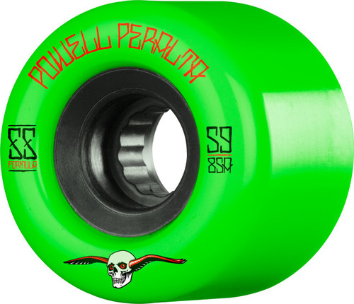 Powell Peralta G-Slides 56mm 85a Green Wheels 4 pk