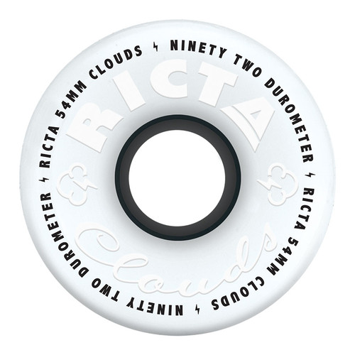 Ricta Clouds Wheels 54mm/92a (Set of 4)