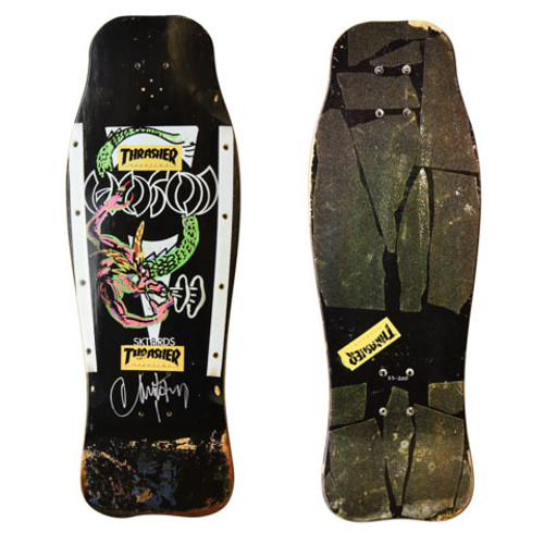 Hosoi Skates Dragon Autographed Deck Only 200 Made