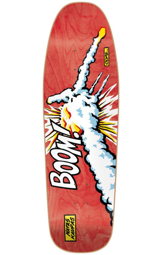 101 Heritage Series Natas Challenger Boom SCREENED Old School Re-Issue Deck Red