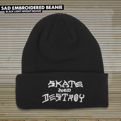 Thrasher Skate & Destroy Beanie (Available in 3 Colors)