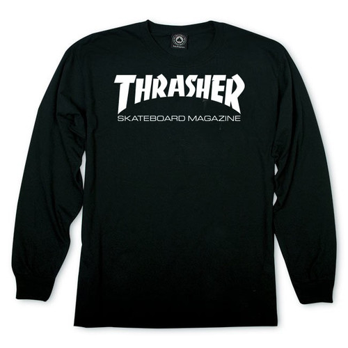 Thrasher Skate Mag Logo Long Sleeve Shirt (Available in 2 Colors)